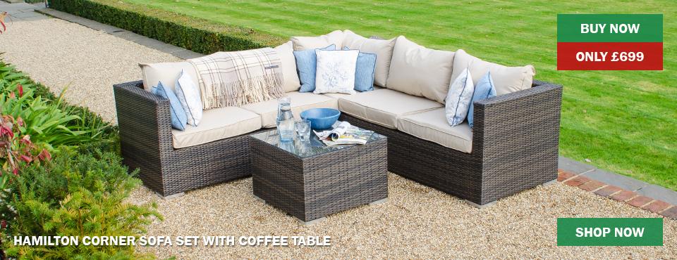 Hamilton Corner Sofa Set