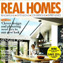 Real Homes Magazine featuring White Stores