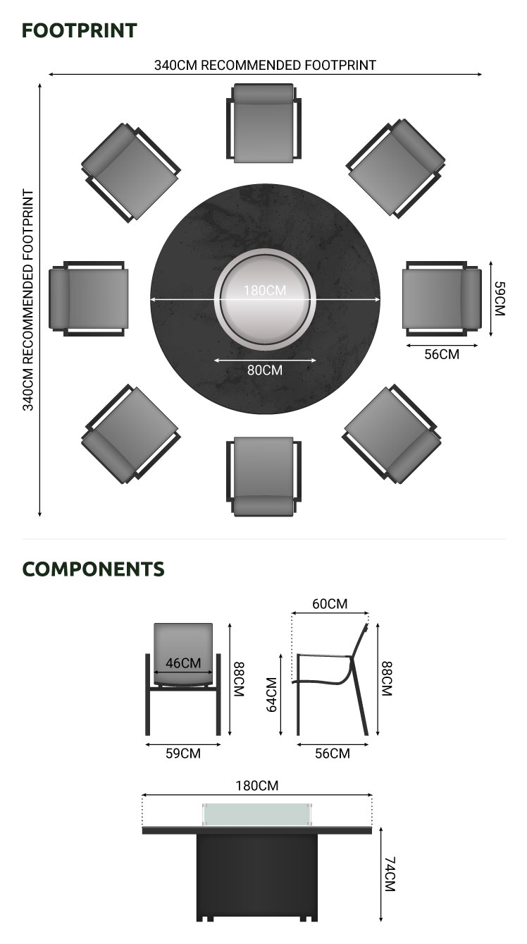 Product Dimension Drawing