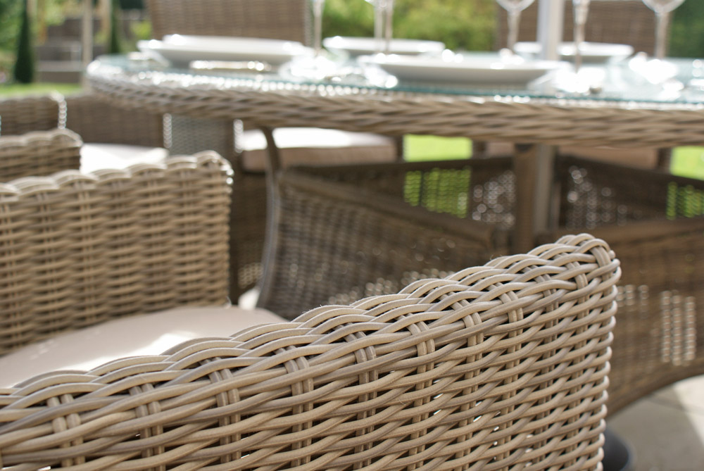Why Synthetic Rattan Garden Furniture