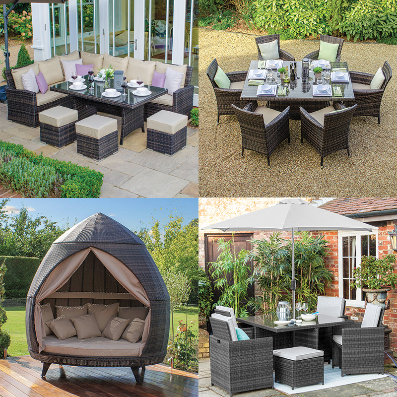 not only does rattan garden furniture come in plenty of colour choices but there is also a style for every occasion some of the most popular items of - Garden Furniture Colours