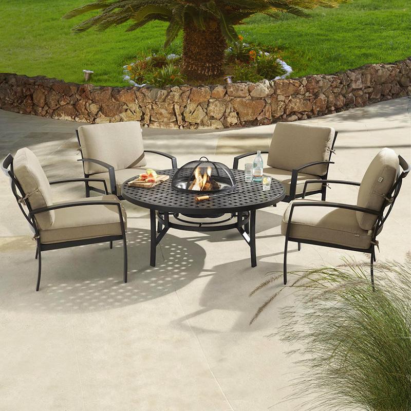 All Weather Aluminium Garden Furniture, Cast Aluminium Garden Seat
