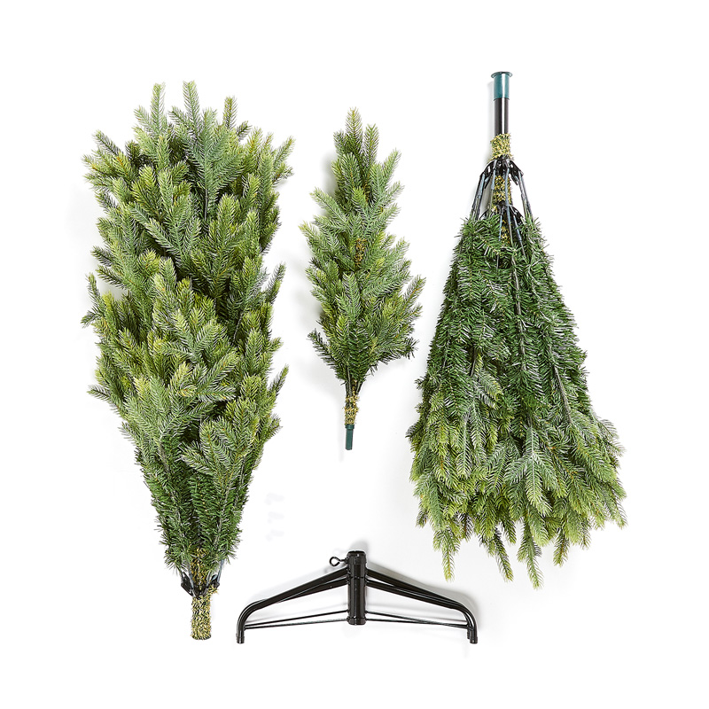 Unboxed Artificial Christmas Tree Pieces